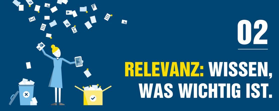 PMG Whitepaper zum Thema Relevanz | Wissen, was wichtig ist