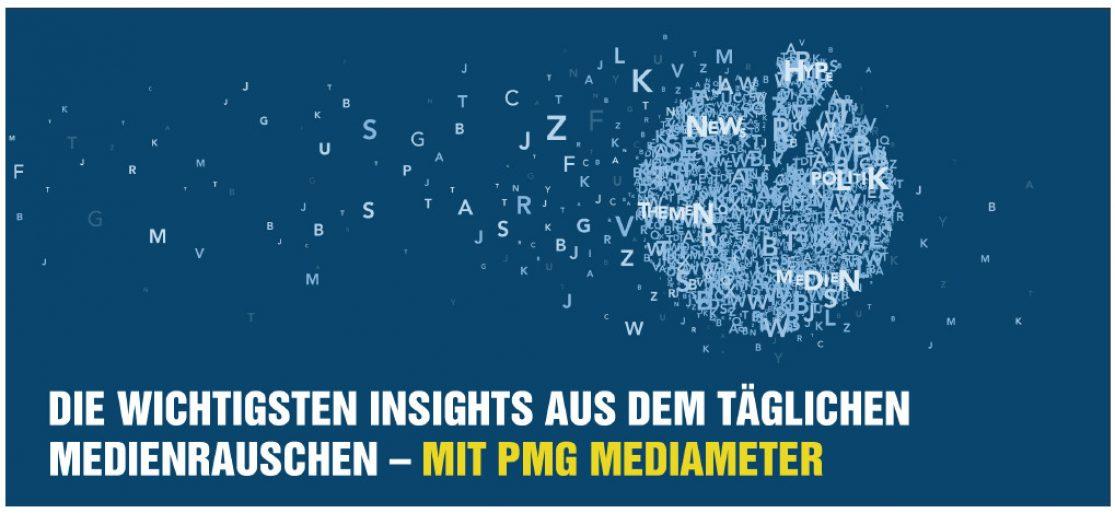 Digitale Medienanalyse: Die wichtigsten Insights aus den Medien mit PMG MediaMeter