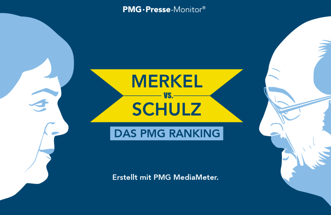 PMG Ranking: Angela Merkel vs. Martin Schulz