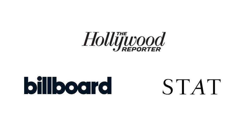 Billboard, Hollywood Reporter, STATnews - kurz vorgestellt