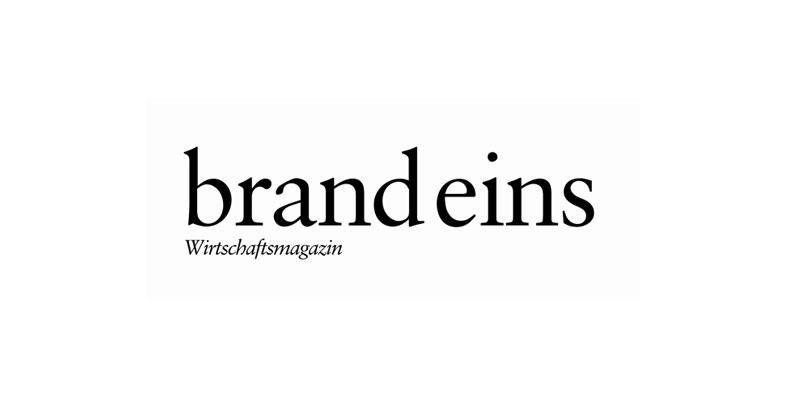 brand eins Logo | digital verfügbar in der PMG Pressedatenbank