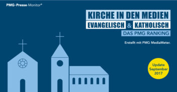 PMG Ranking: Kirche - evangelisch vs. katholisch - September 2017