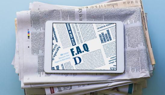Fragen und Antworten zu den FAQ (häufig gestellte Fragen)