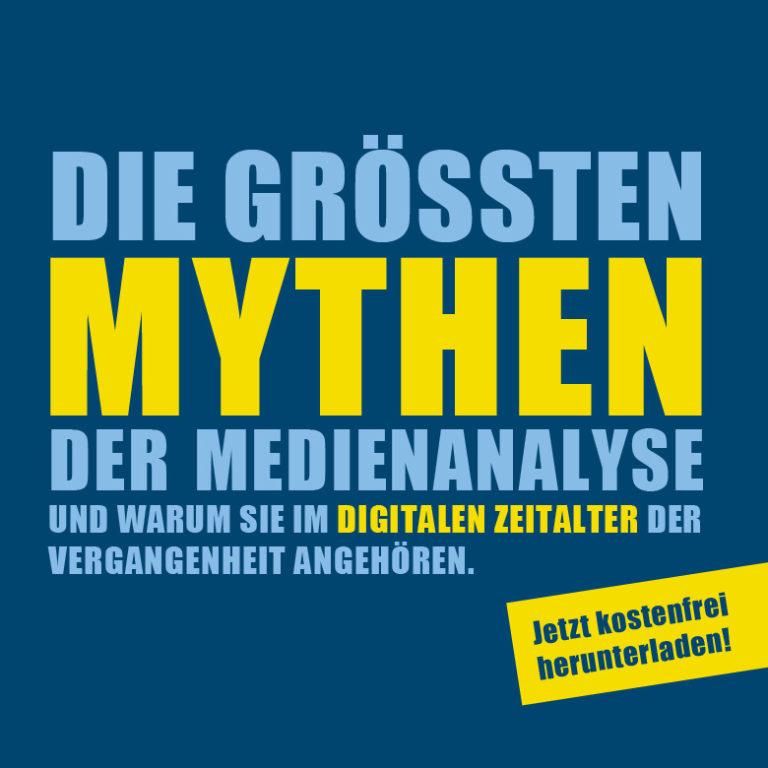 Die größten Mythen der Medienanalyse