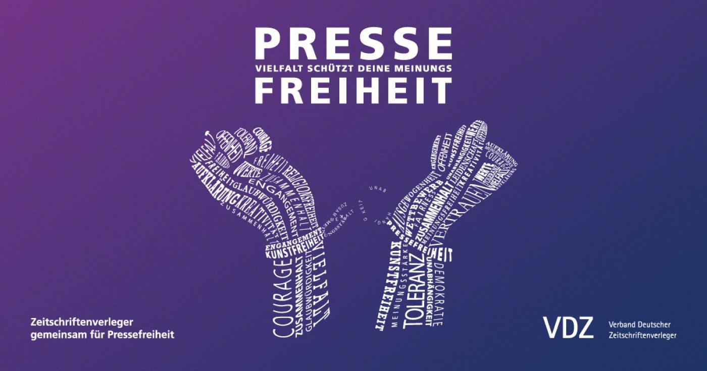 Aktion für mehr Pressefreiheit weltweit   PMG Presse Monitor