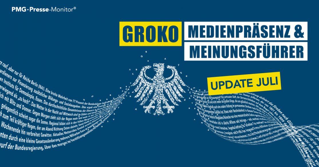 Groko Ranking Update Juli