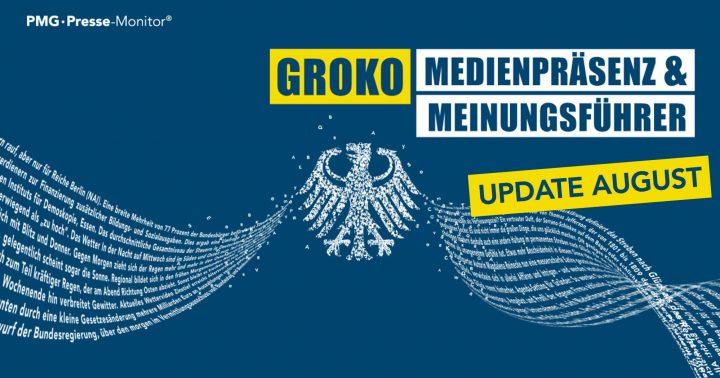 GroKo Update August