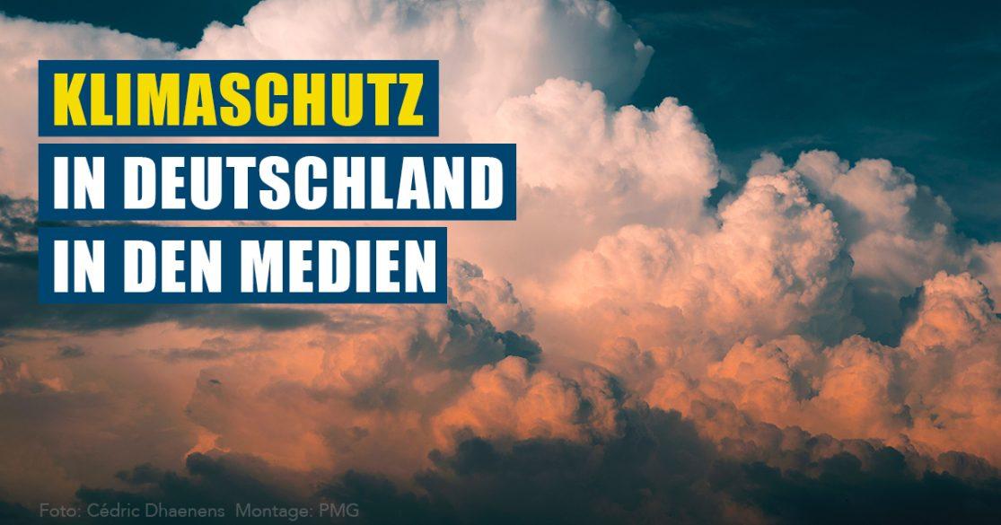 Klimaschutz in Deutschland in den Medien