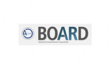 kurz vorgestellt BOARD   digital verfügbar in der PMG Pressedatenbank