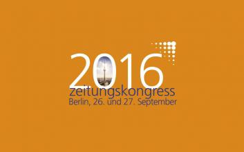 PMG Presse-Monitor auf dem BDZV-Zeitungskongress 2016