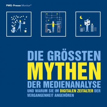 PMG Whitepaper zum Download: Die größten Mythen der Medienanalyse entschlüsselt