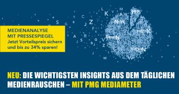 Aktion 2017: PMG Kombiniert - Pressespiegel und Medienanalyse