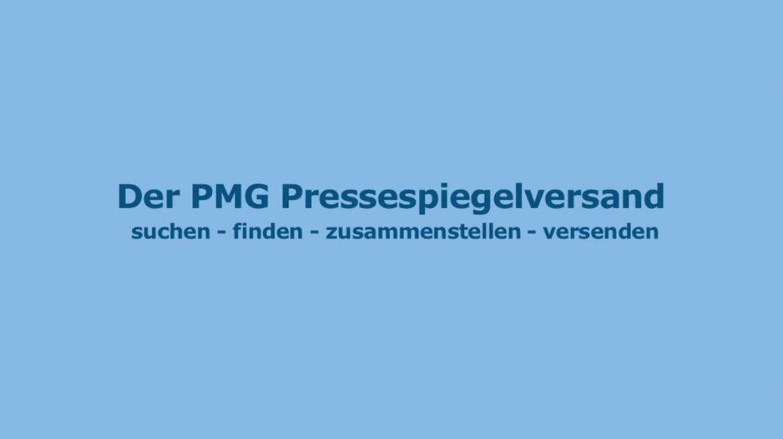 Video zum PMG Pressespiegelversand