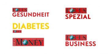 Kurz vorgestellt: Focus Sonderhefte Gesundheit, Diabetes, Spezial, Money, Business