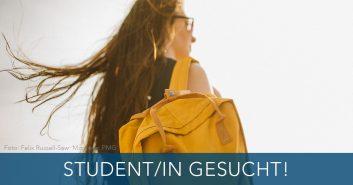 Stellenanzeige für eine studentische Studentische Mitarbeiter/in