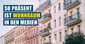 Wohnraum in Deutschland in den Medien
