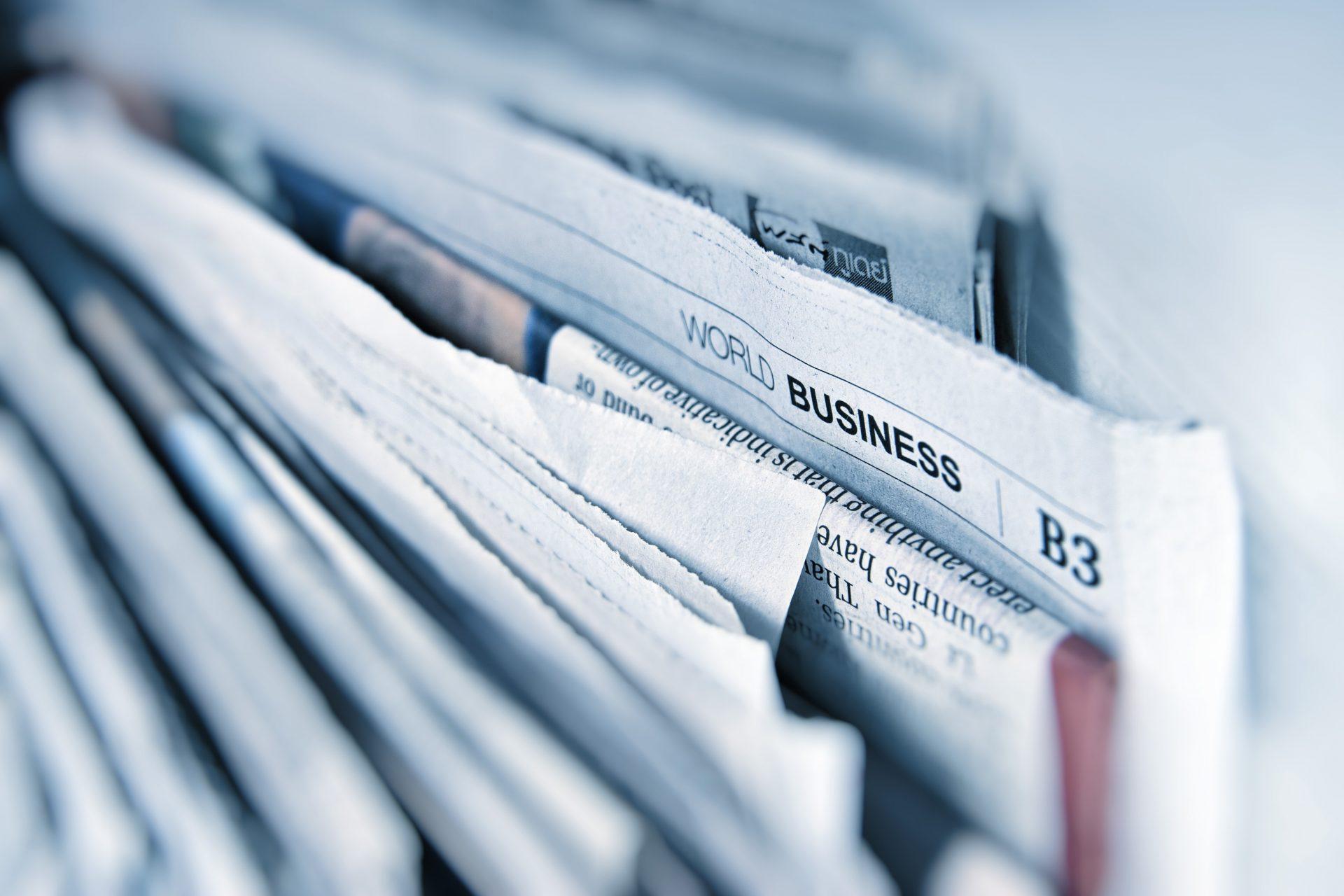 Zeitungen, Verlage, Lieferanten