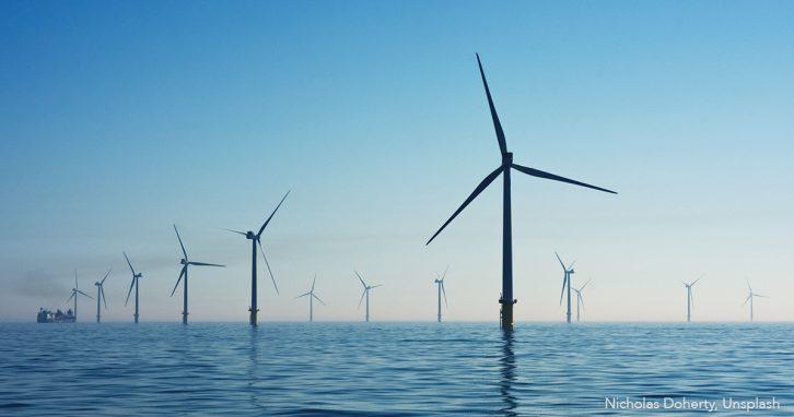 Klimaschutz: Offshore-Windräder