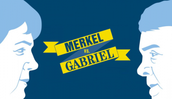 Merkel vs. Gabriel