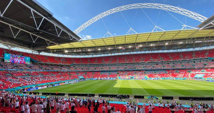 Eröffnung der Fußball-EM im Wembley-Stadion