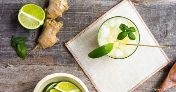 Superfoods: Ingwer und Limette als Getränk