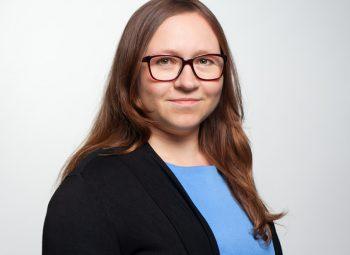 Anastasia Berger bei der PMG Presse-Monitor