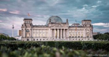 Bild Bundestag Unsplash
