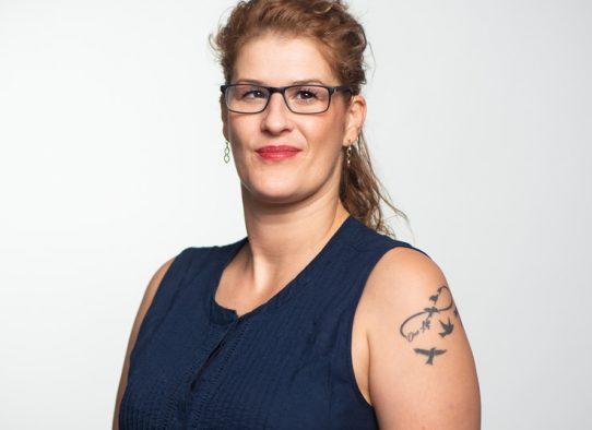Nacira Engelbrecht bei der PMG